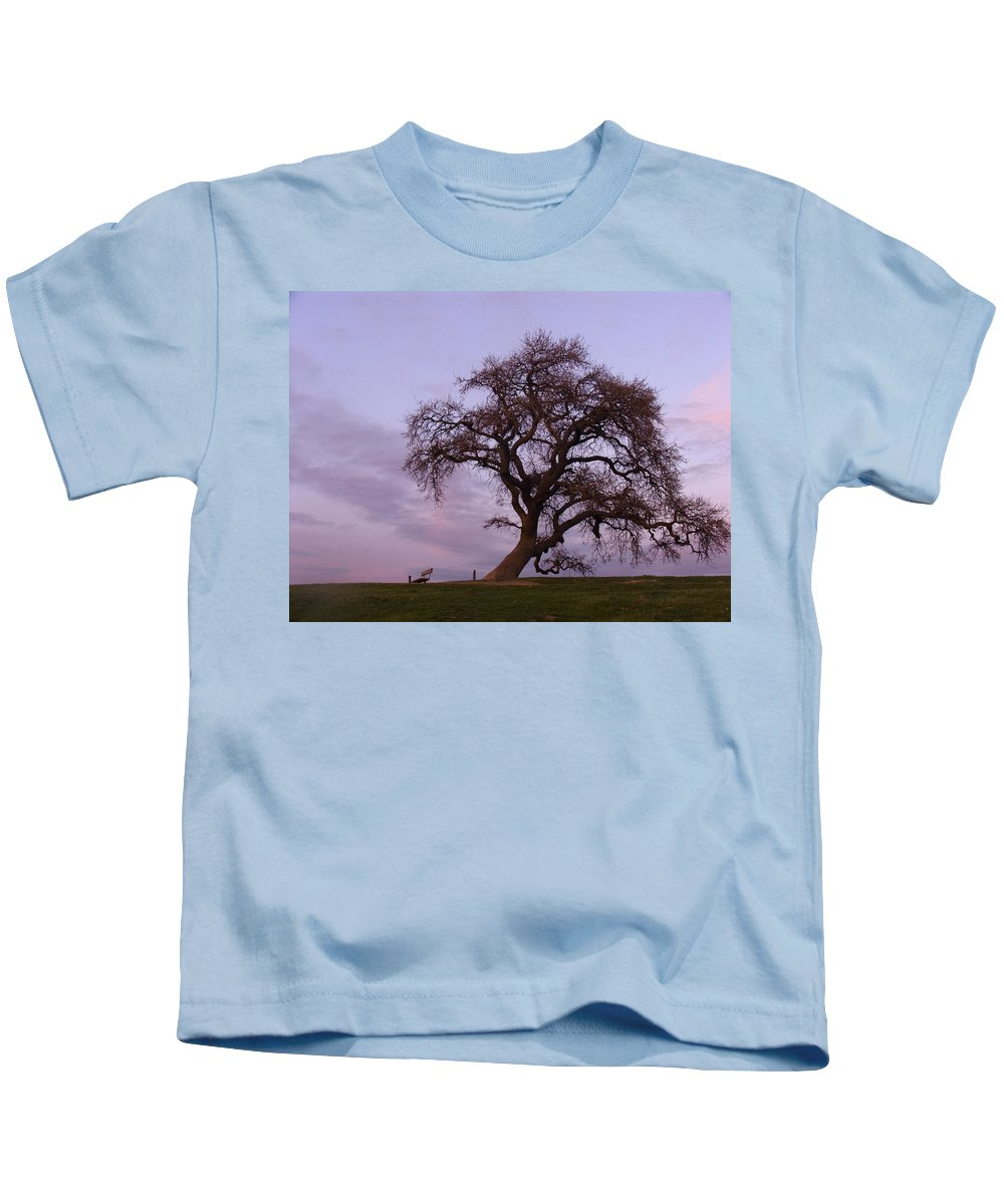 Livermore Kids T-Shirt featuring the photograph Waiting For Paul by Karen W Meyer