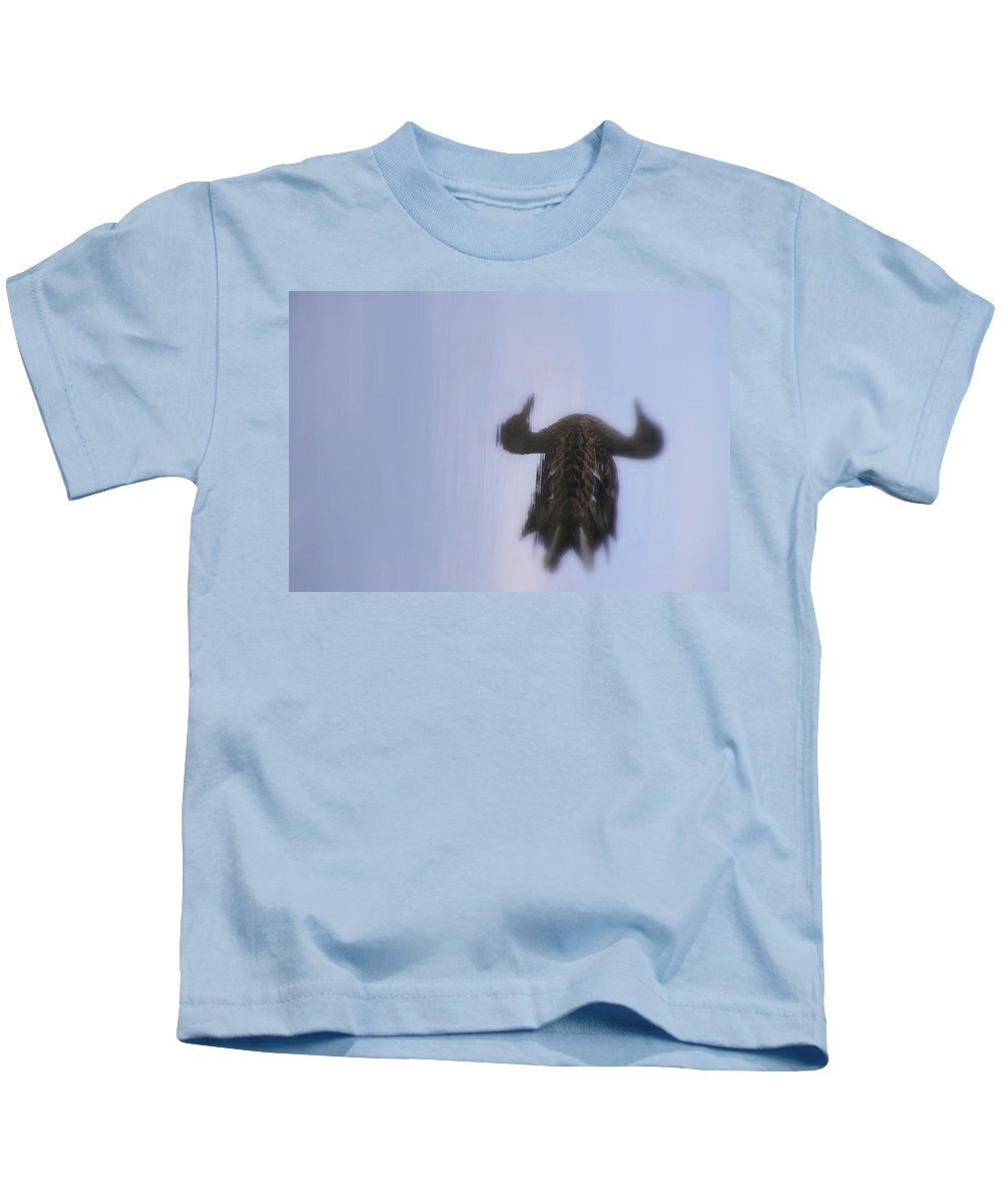 Still Life Kids T-Shirt featuring the photograph Water Buffalo by Ed Smith