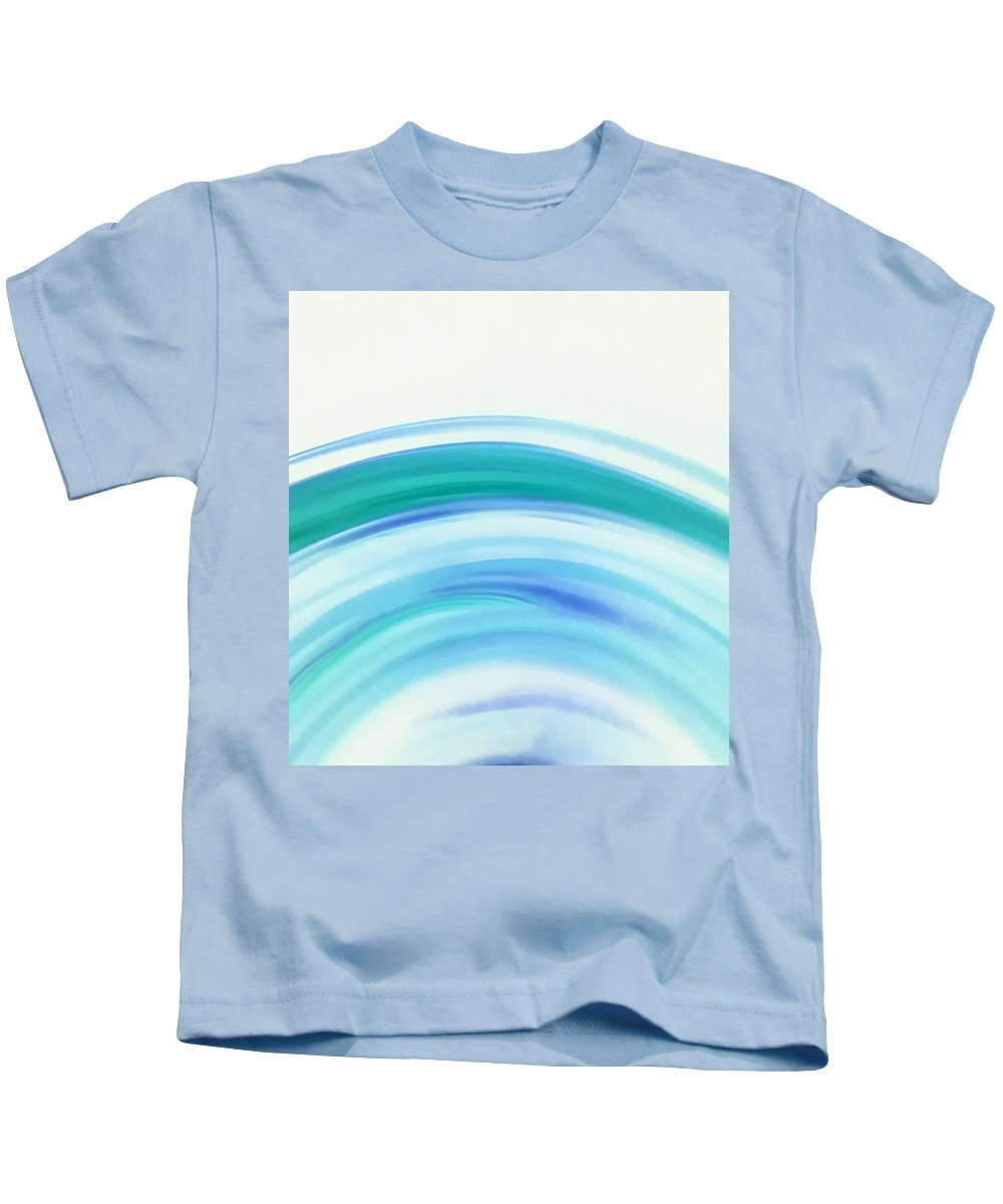 Waves Kids T-Shirt featuring the photograph Waves by Taina Hernandez