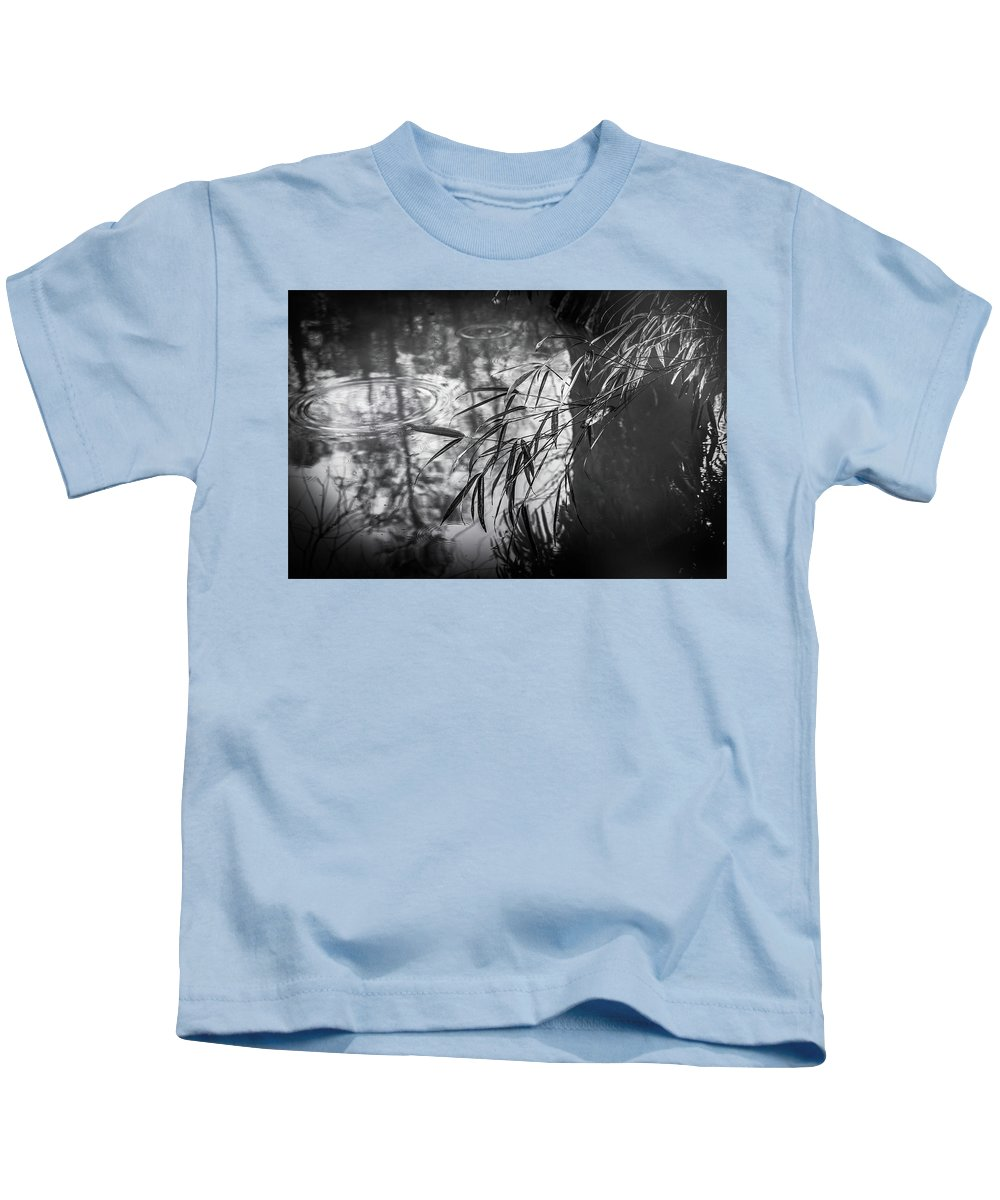 Pattern Kids T-Shirt featuring the photograph Wet Winter by Peter Hayward Photographer