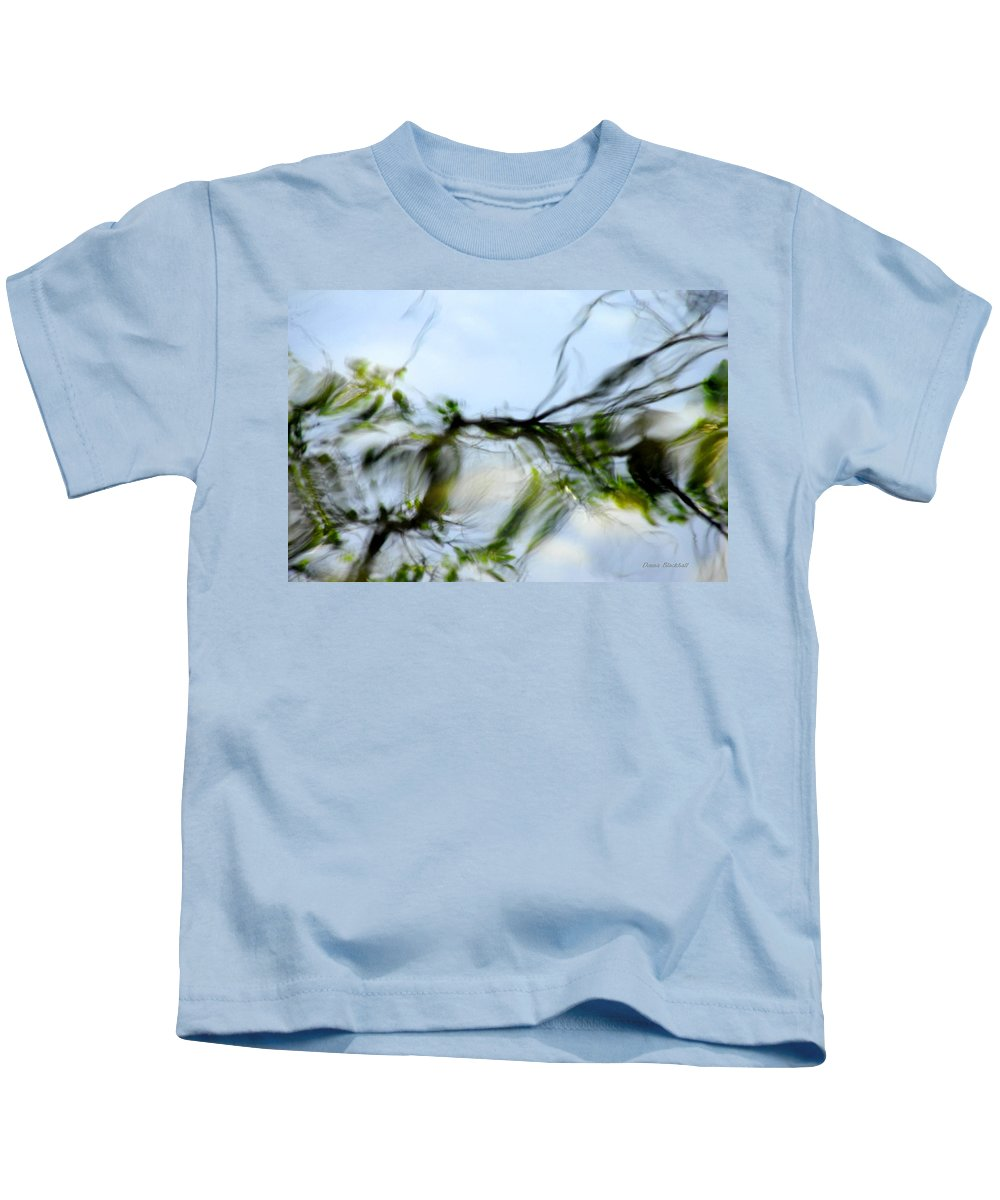 Water Kids T-Shirt featuring the photograph Whisper To Me by Donna Blackhall