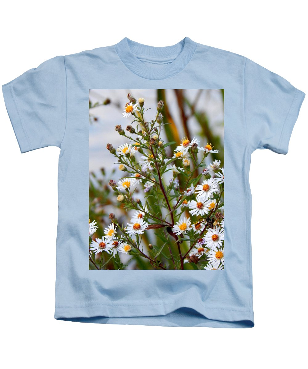 Wildflowers Kids T-Shirt featuring the photograph Wildflower, by JoAnne Burgess
