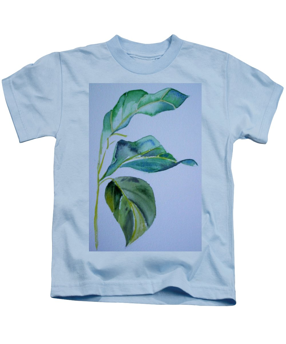 Nature Kids T-Shirt featuring the painting Window View by Suzanne Udell Levinger