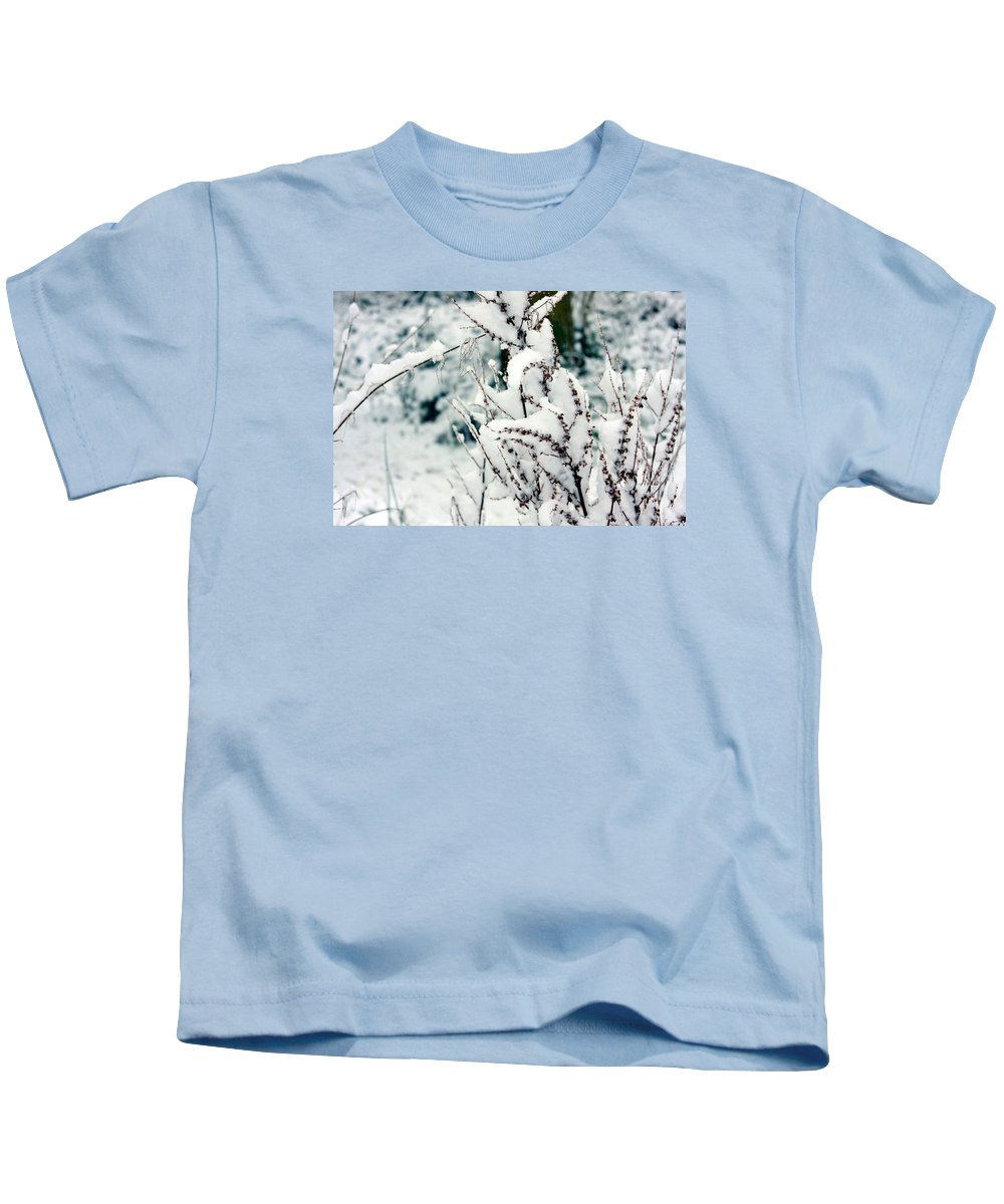 Snow Kids T-Shirt featuring the photograph Winter Is Comming by Kyle Hillman