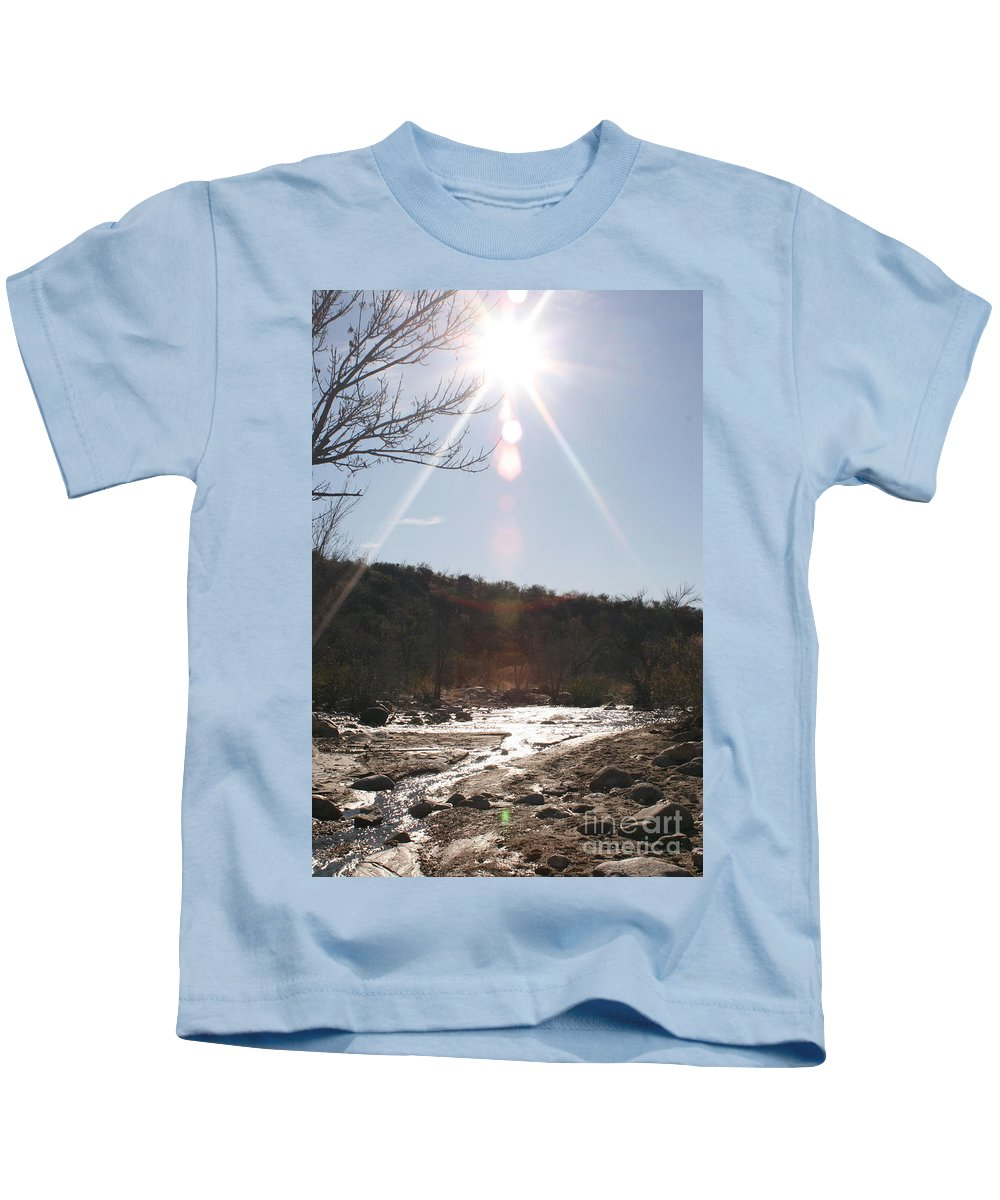 Winter Kids T-Shirt featuring the photograph Winter Light by Nadine Rippelmeyer