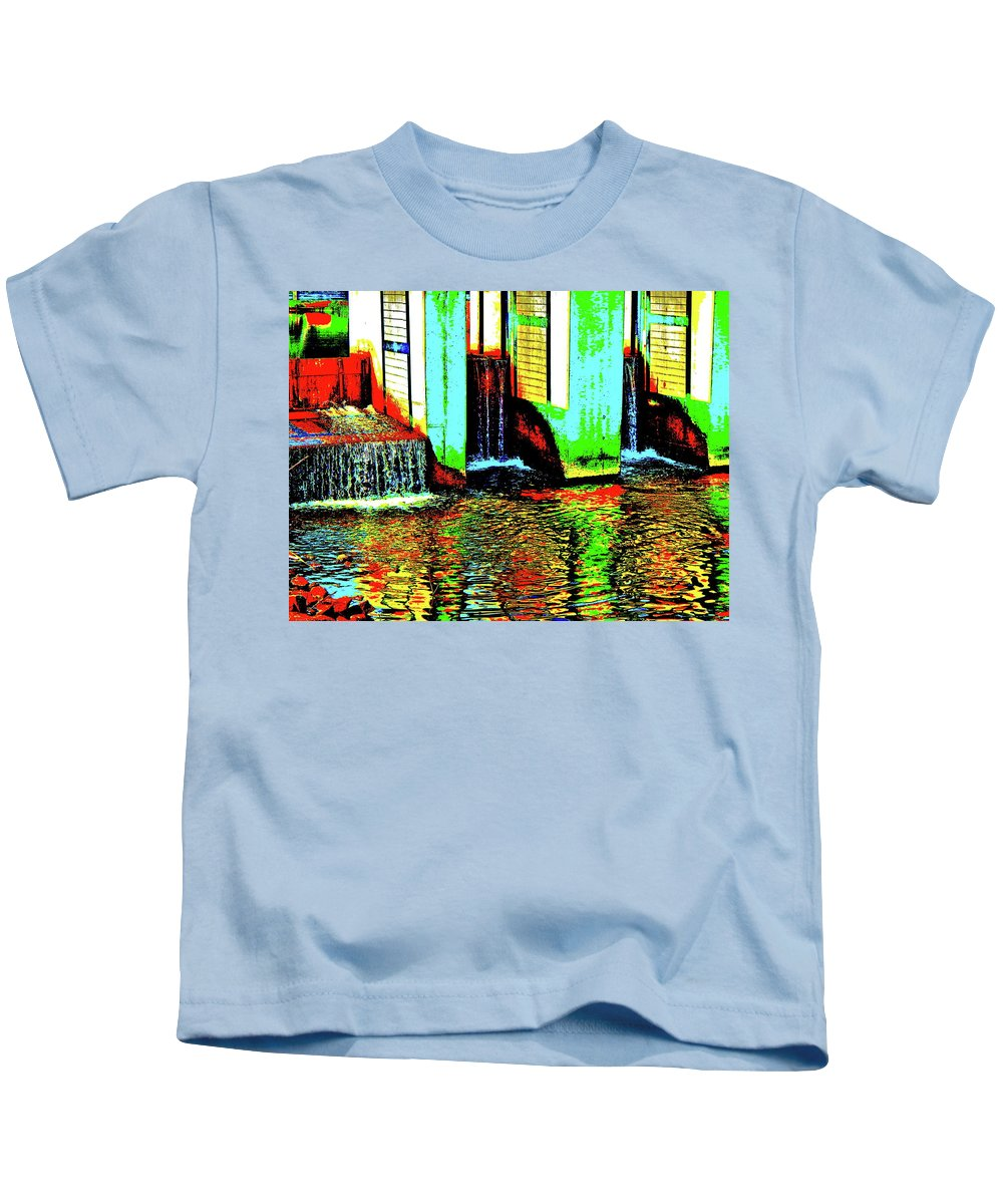 Landscape Kids T-Shirt featuring the photograph Canton Central 9 by George Ramos