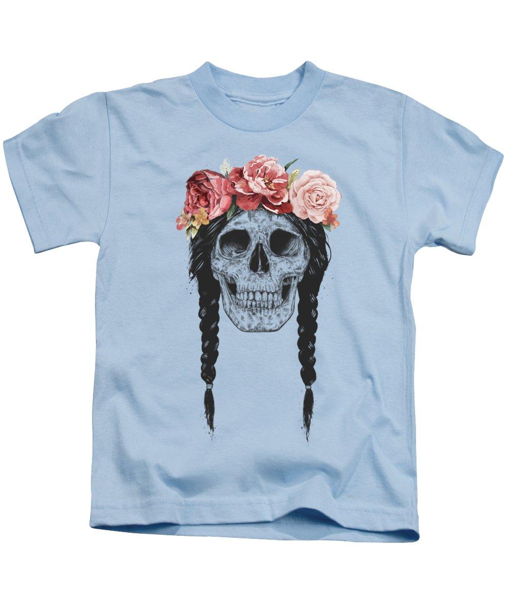 Botanical Drawings Kids T-Shirts