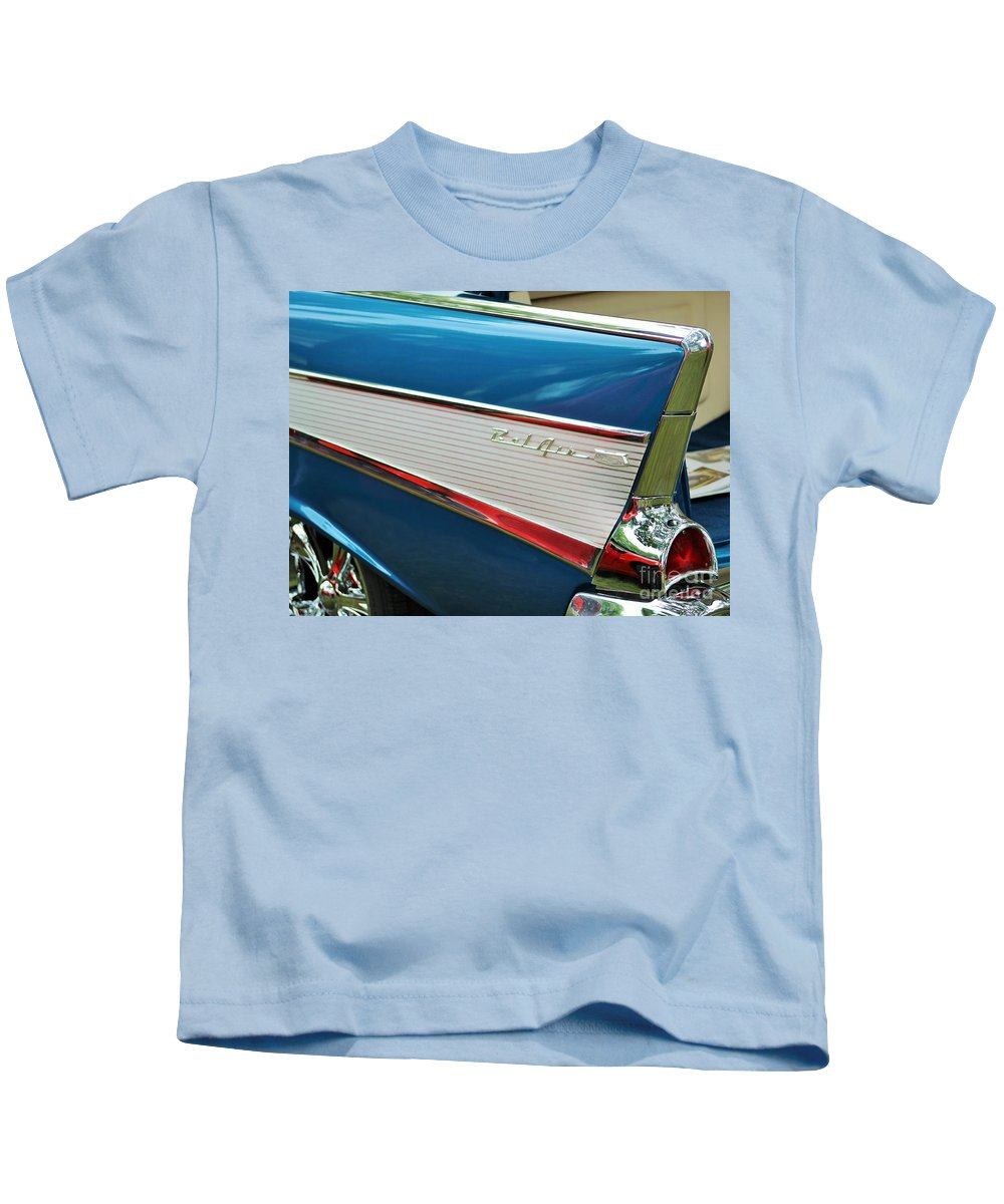 57 Chevy Kids T-Shirt featuring the photograph Fresh Prince by Tammy Miller