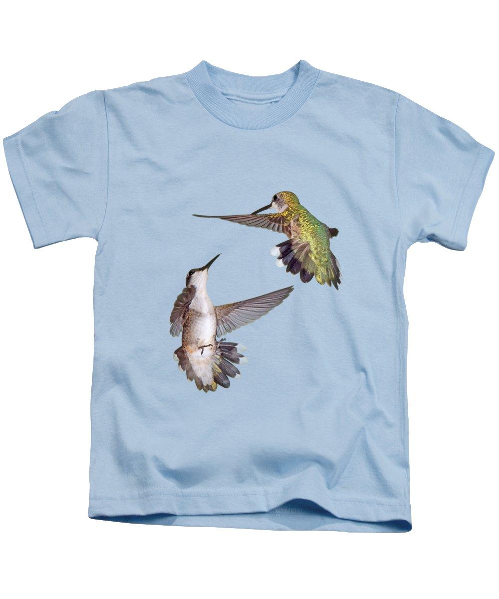 Bird In Flight Photographs Kids T-Shirts