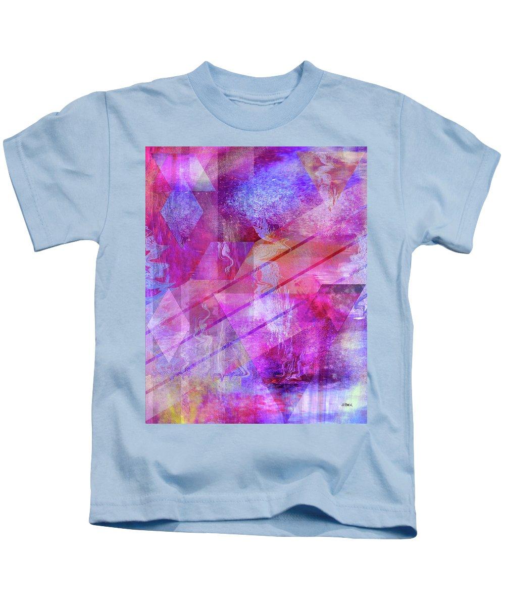 Dragon's Kiss Kids T-Shirt featuring the digital art Dragon's Kiss by John Robert Beck