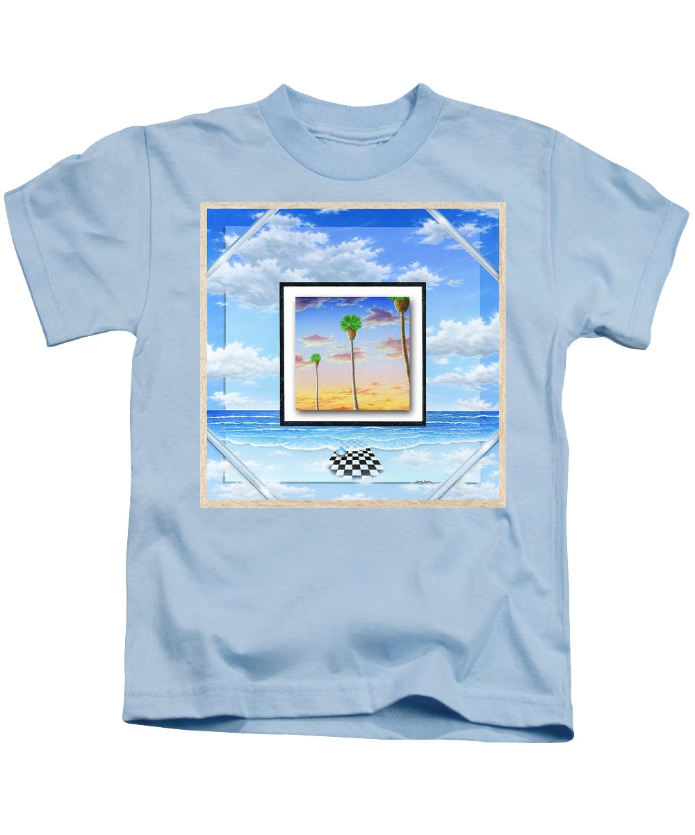Ocean Kids T-Shirt featuring the painting Noteworthy Aspirations by Snake Jagger