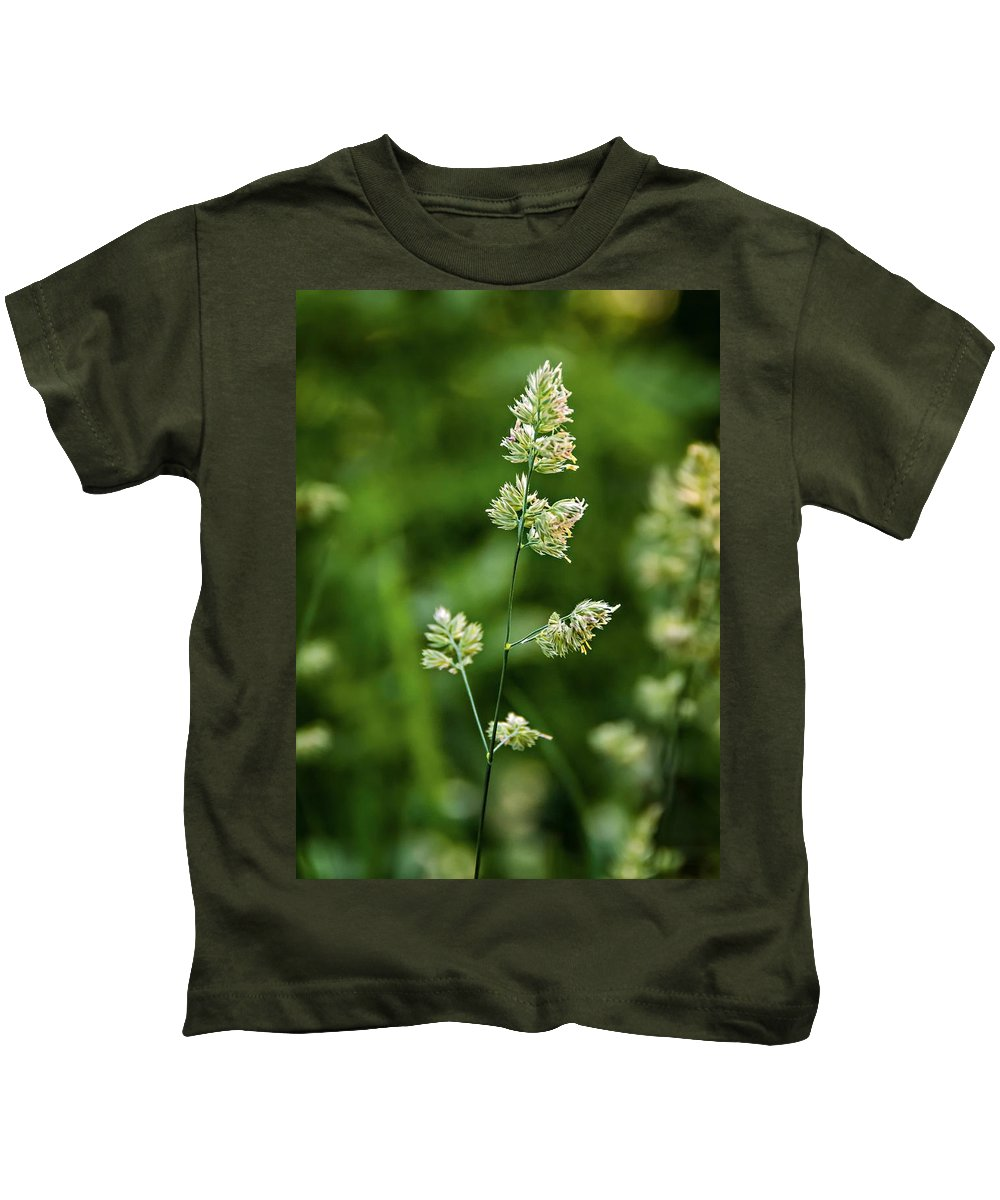 Steve Harrington Kids T-Shirt featuring the photograph A World Of Green by Steve Harrington