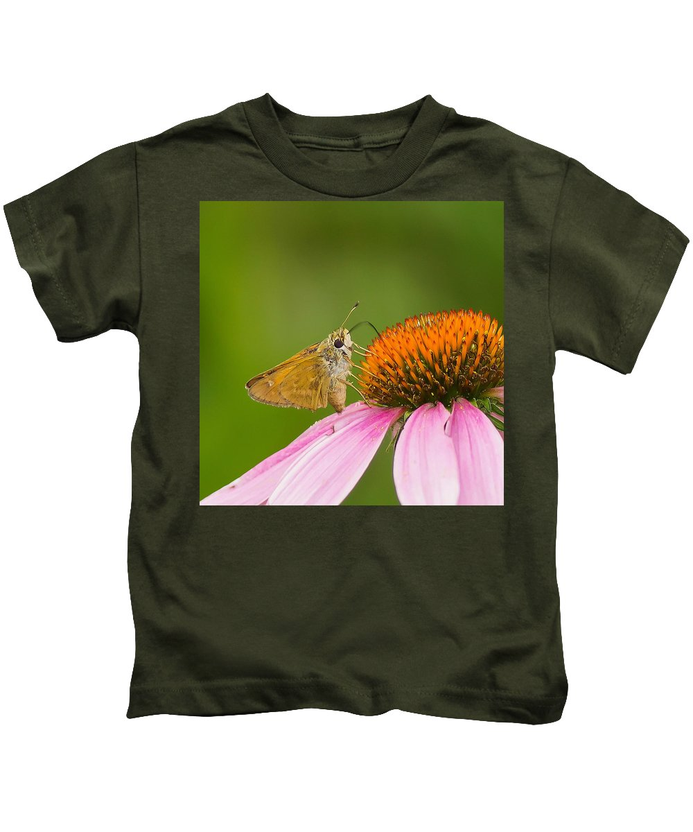 Flowers & Plants Kids T-Shirt featuring the photograph All Things Big And Small by Daren Johnson