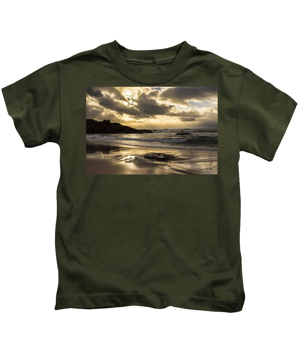Coastline Kids T-Shirt featuring the photograph Fort Bragg Storm by Doug Holck