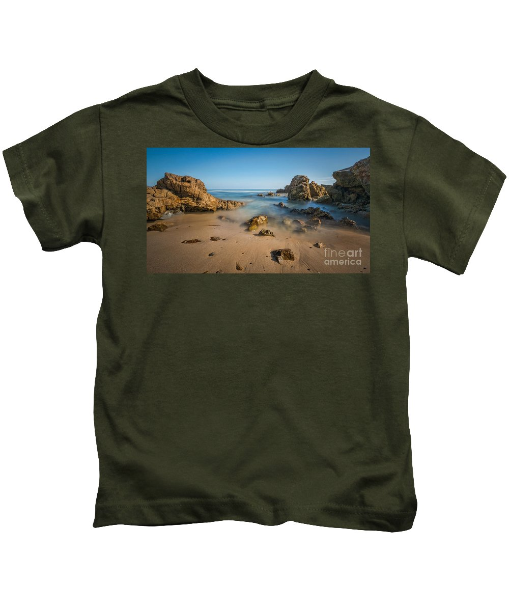 Rushing Water Kids T-Shirt featuring the photograph Laguna by Michael Ver Sprill