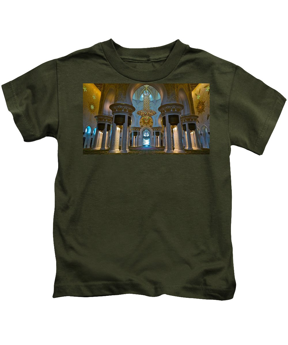 Travel Kids T-Shirt featuring the photograph Peaceful Serenity by Tim G Ross