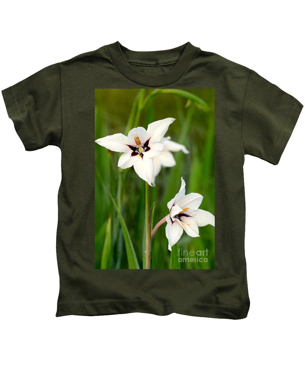 Flower Kids T-Shirt featuring the photograph Summer Glory by Mary Smyth