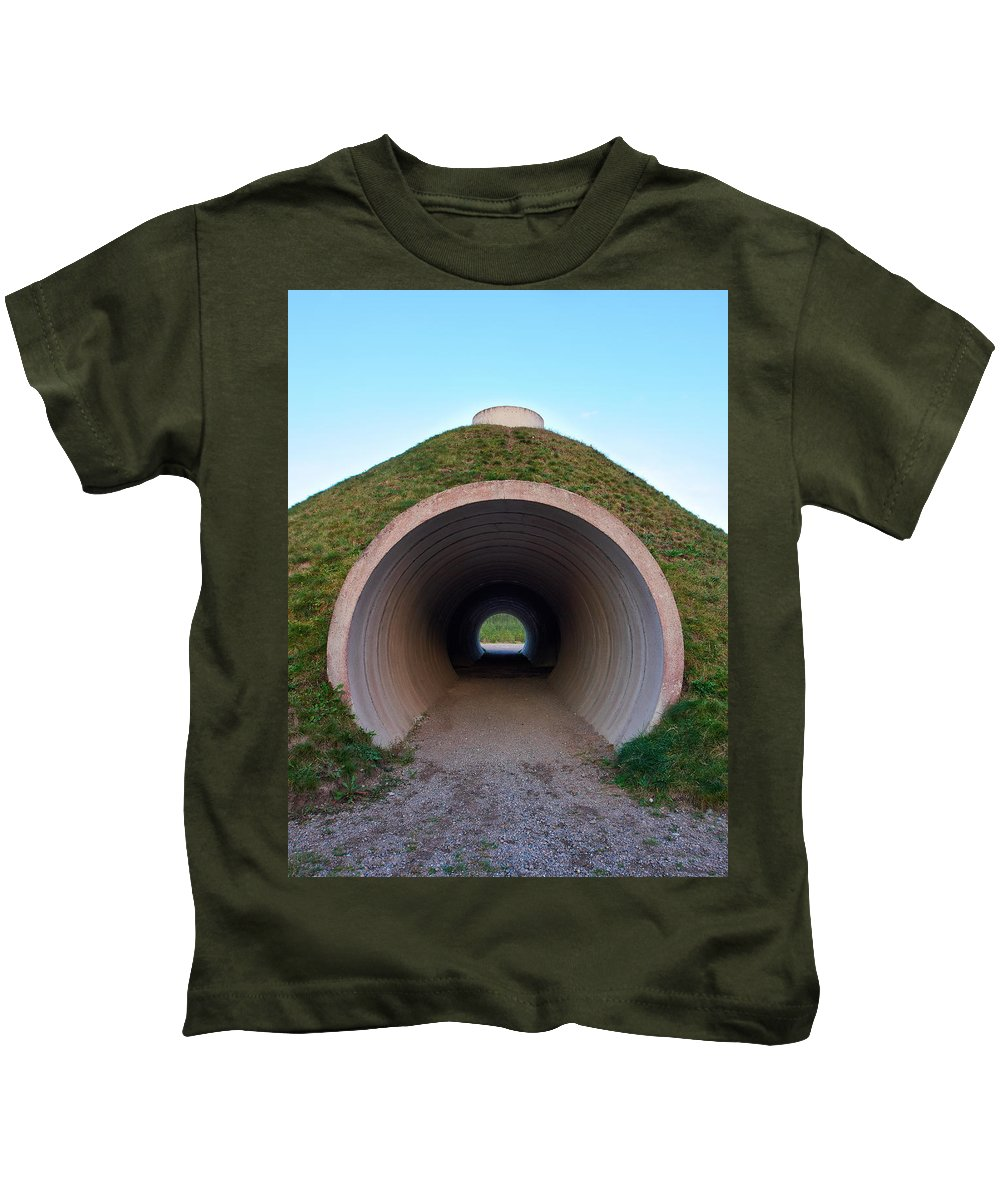 Lehto Kids T-Shirt featuring the photograph Up And Under by Jouko Lehto