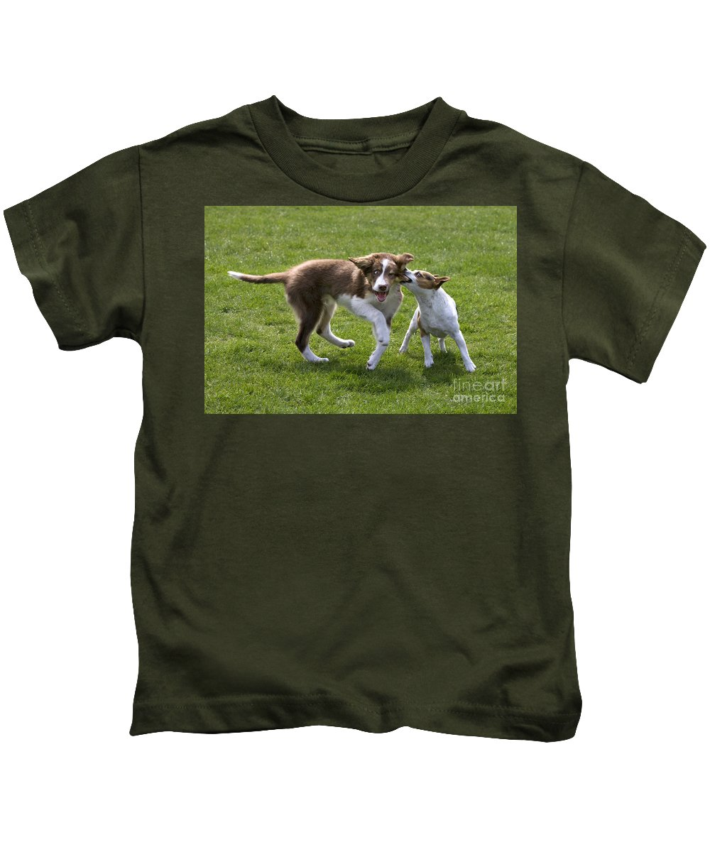 Mammal Kids T-Shirt featuring the photograph 110506p200 by Arterra Picture Library