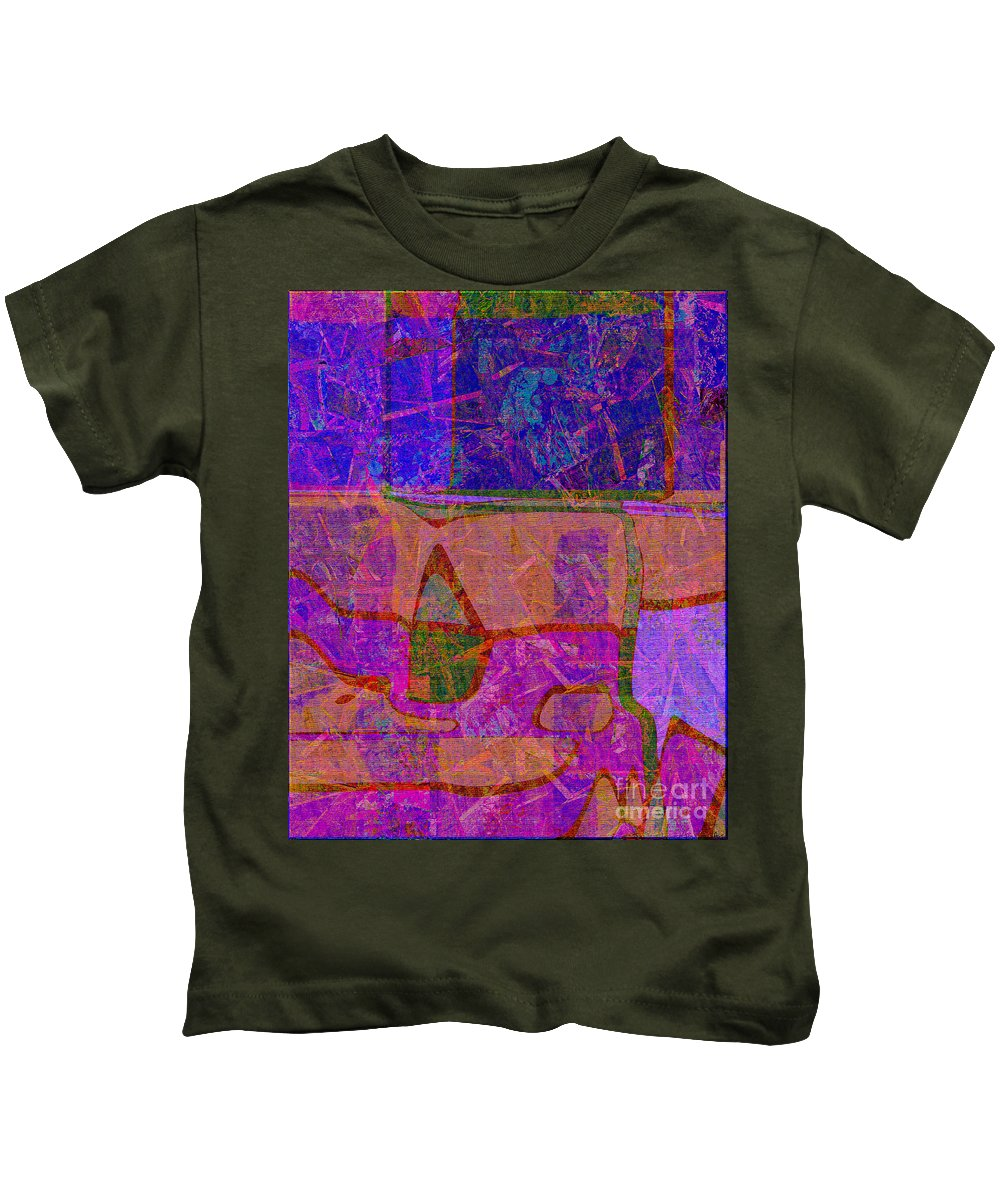 Abstract Kids T-Shirt featuring the digital art 1381 Abstract Thought by Chowdary V Arikatla