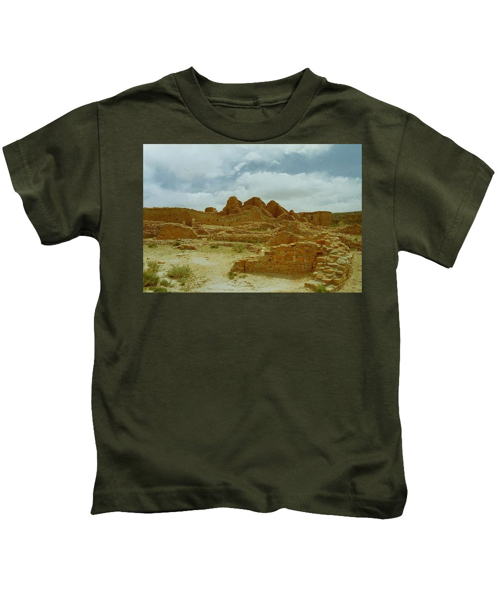 Chaco Canyon Kids T-Shirt featuring the photograph Chaco Canyon by Mike Wheeler