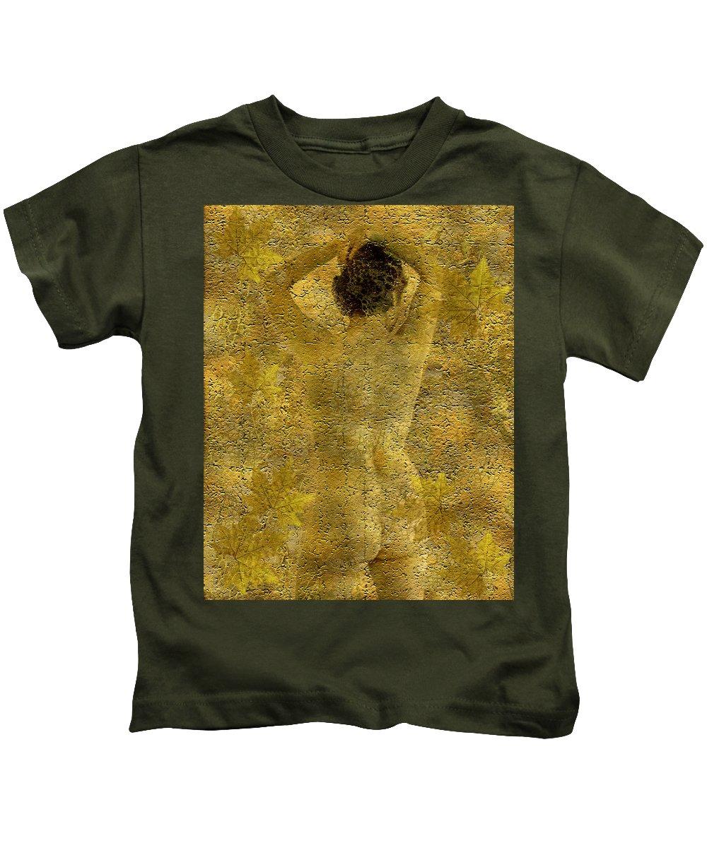 Nudes Kids T-Shirt featuring the photograph Jenni by Kurt Van Wagner