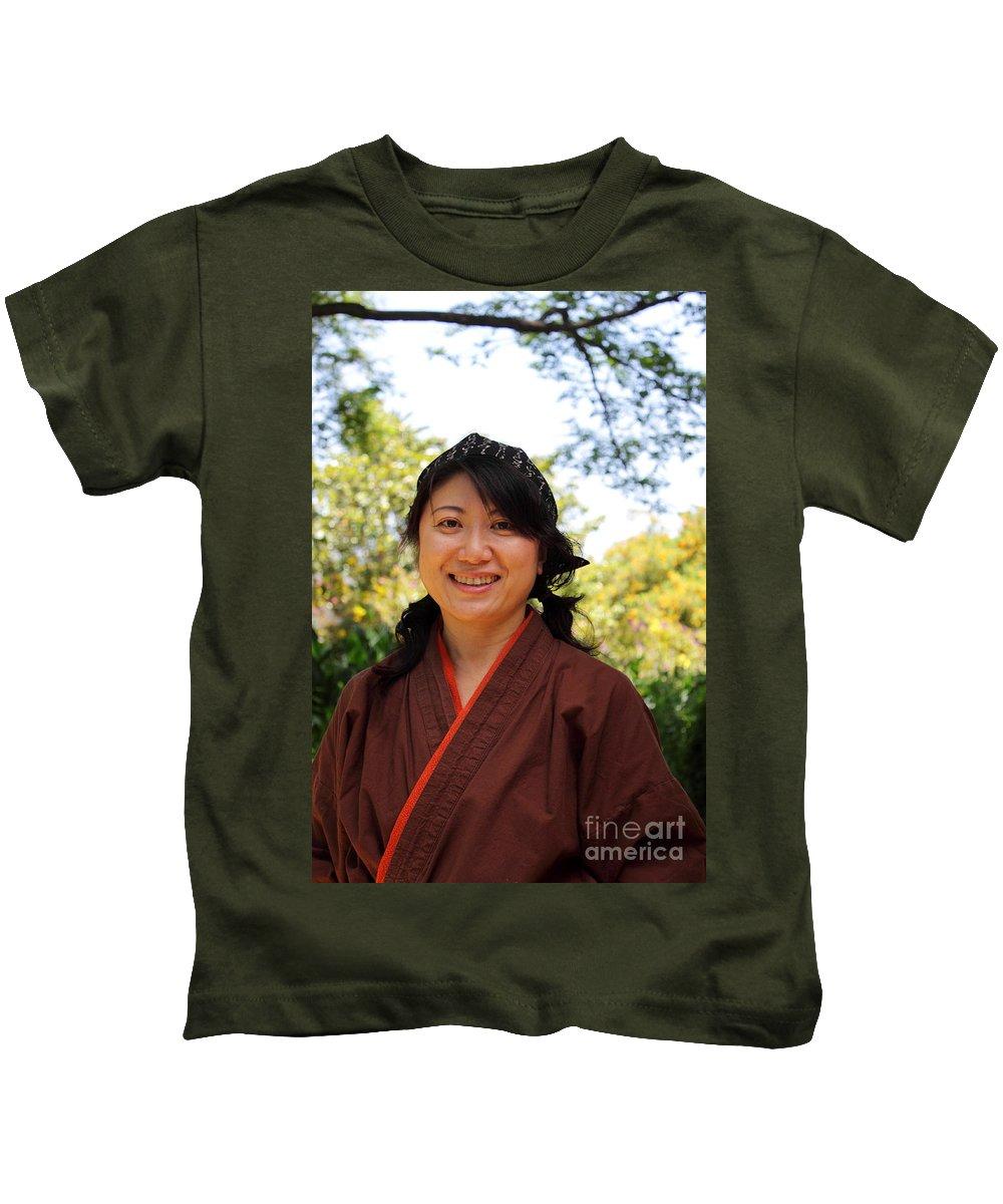Asian Kids T-Shirt featuring the photograph Japanese Women by Henrik Lehnerer