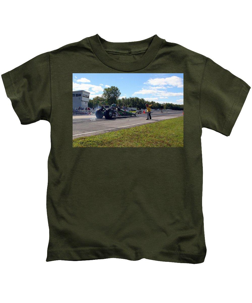 Esta Safety Park Kids T-Shirt featuring the photograph Esta Safety Park 09-14-14 by Vicki Hopper