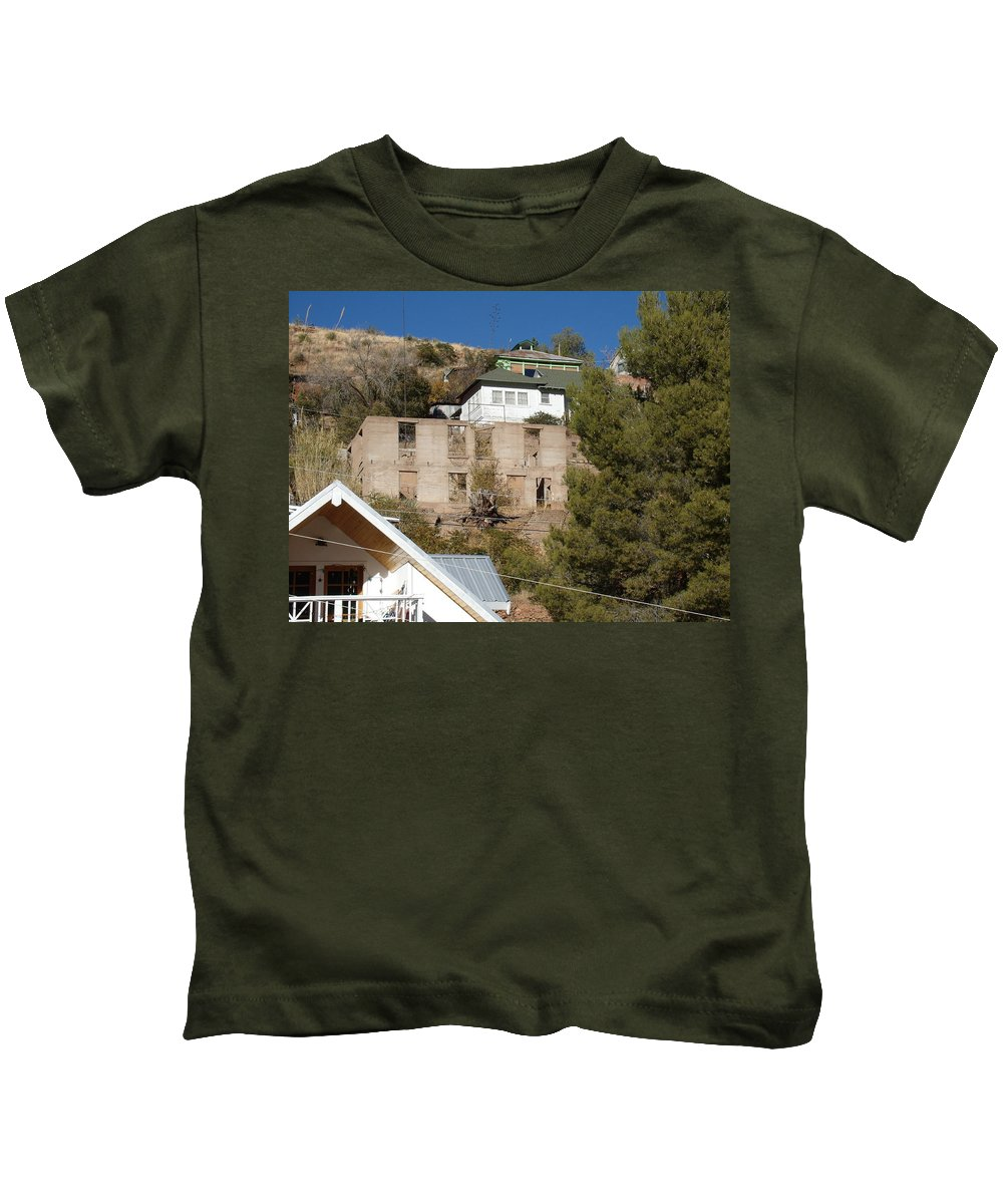 Bisbee Kids T-Shirt featuring the photograph Abandoned by David S Reynolds