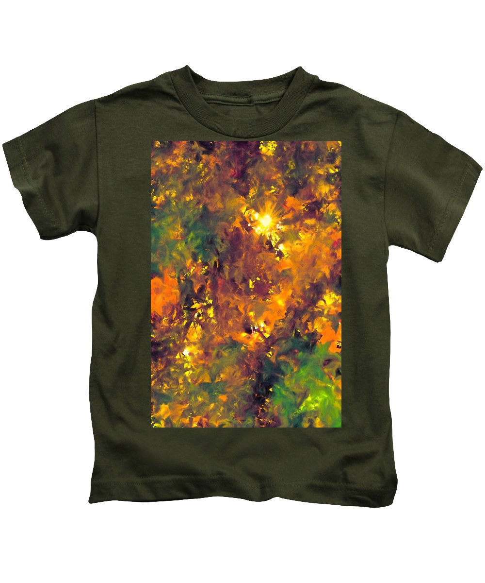 Abstract Kids T-Shirt featuring the photograph Abstract 98 by Pamela Cooper