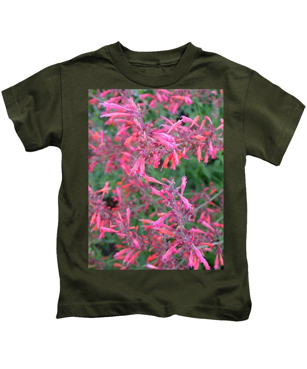 Agastache Rupestris Kids T-Shirt featuring the photograph Agastache Rupestris 1 by Cynthia Wallentine