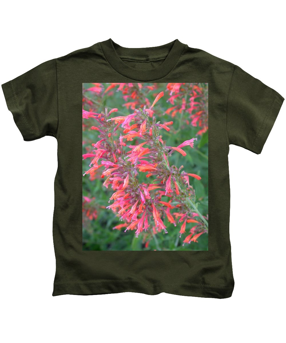 Agastache Rupestris Kids T-Shirt featuring the photograph Agastache Rupestris by Cynthia Wallentine