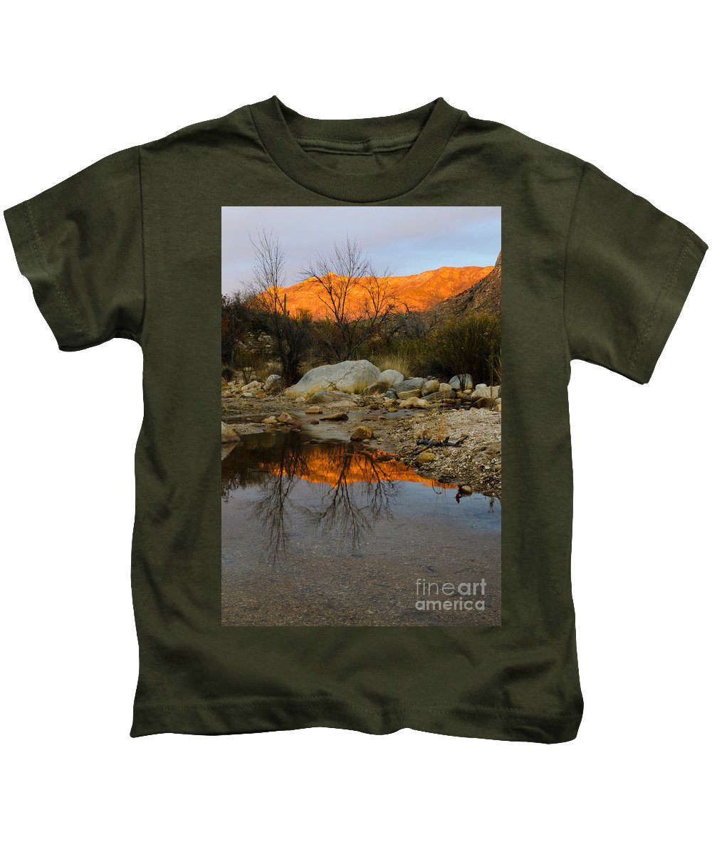 Nature Kids T-Shirt featuring the photograph Arizona Landscape by John Shaw