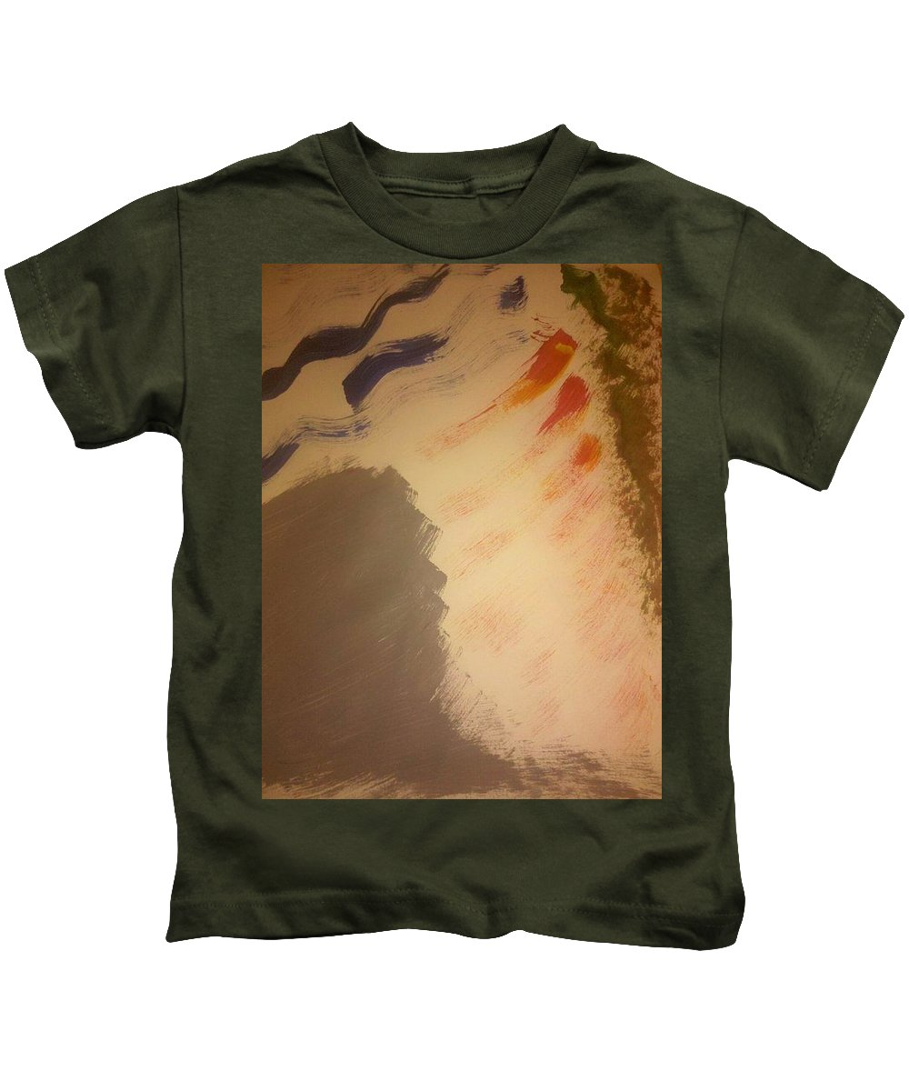 Ribs Kids T-Shirt featuring the photograph Art Therapy 25 by Michele Monk