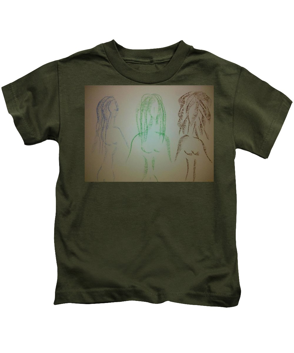 3 Kids T-Shirt featuring the photograph Art Therapy 39 by Michele Monk