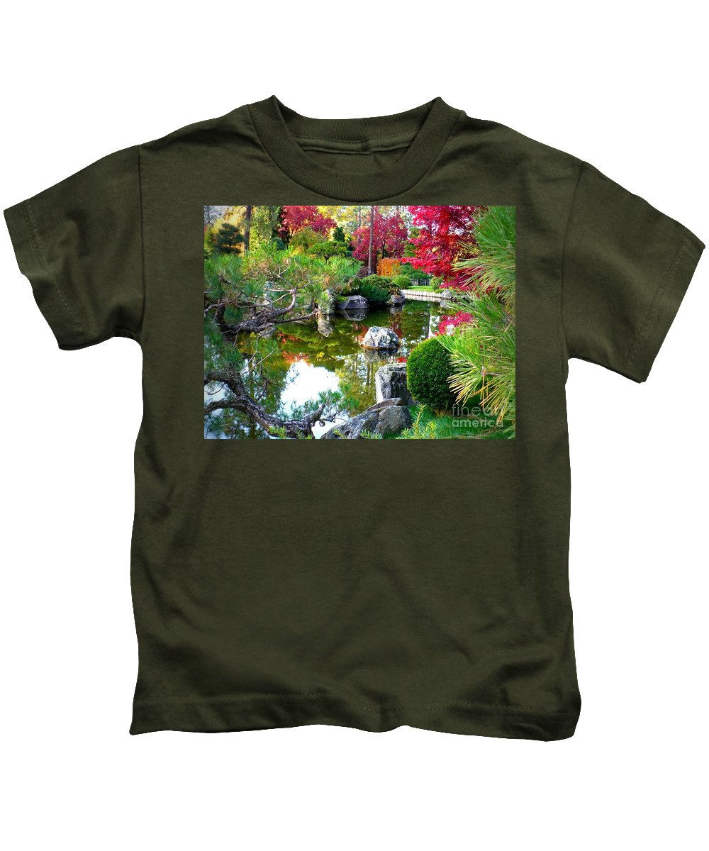 Autumn Color Kids T-Shirt featuring the photograph Autumn Dream by Carol Groenen