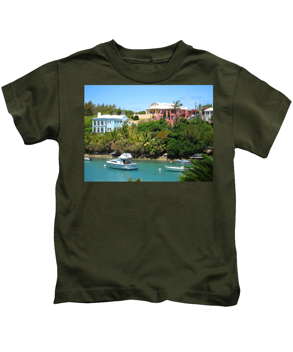 Bermuda Kids T-Shirt featuring the photograph Bermuda In May by Gordon Cain