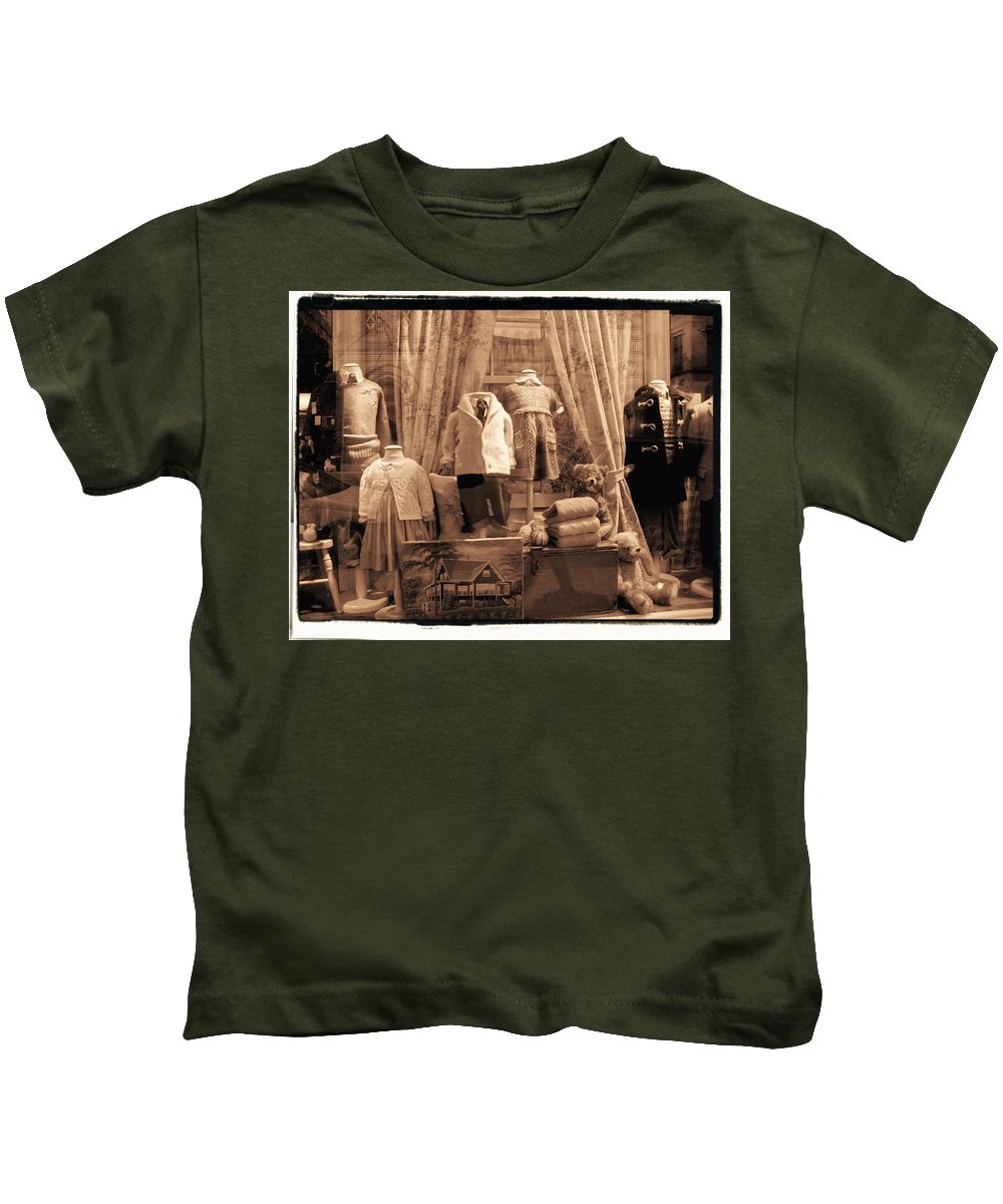 New York Kids T-Shirt featuring the photograph Bless The Children by Donna Blackhall