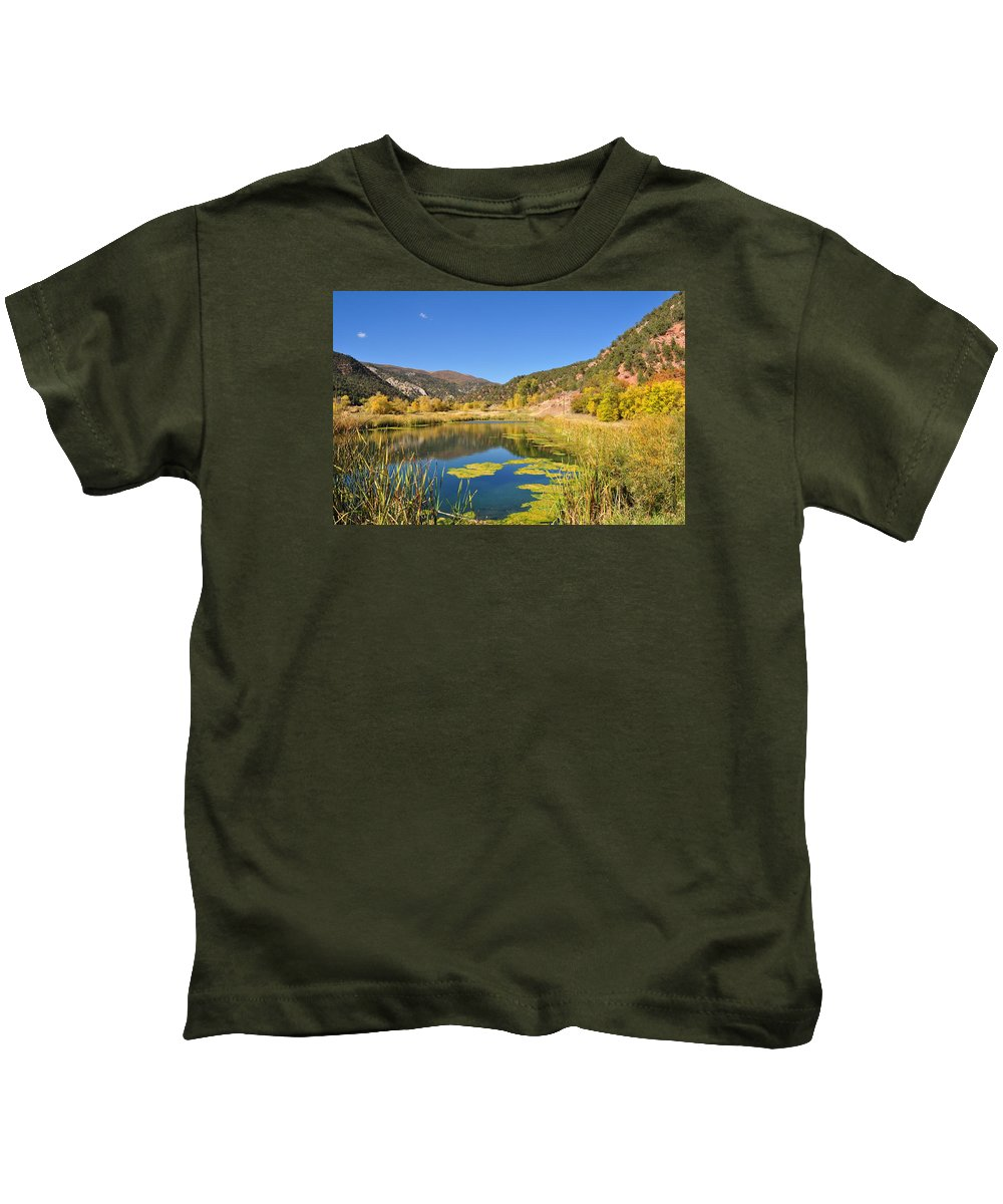 Landscape Kids T-Shirt featuring the photograph Beauty In Colorado by Nicole Jeffery