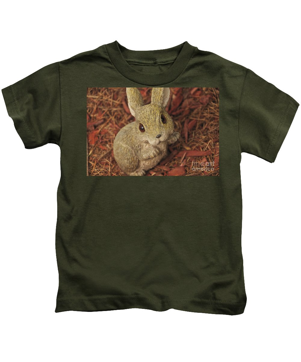 Bunny Kids T-Shirt featuring the photograph Bunny by William Norton