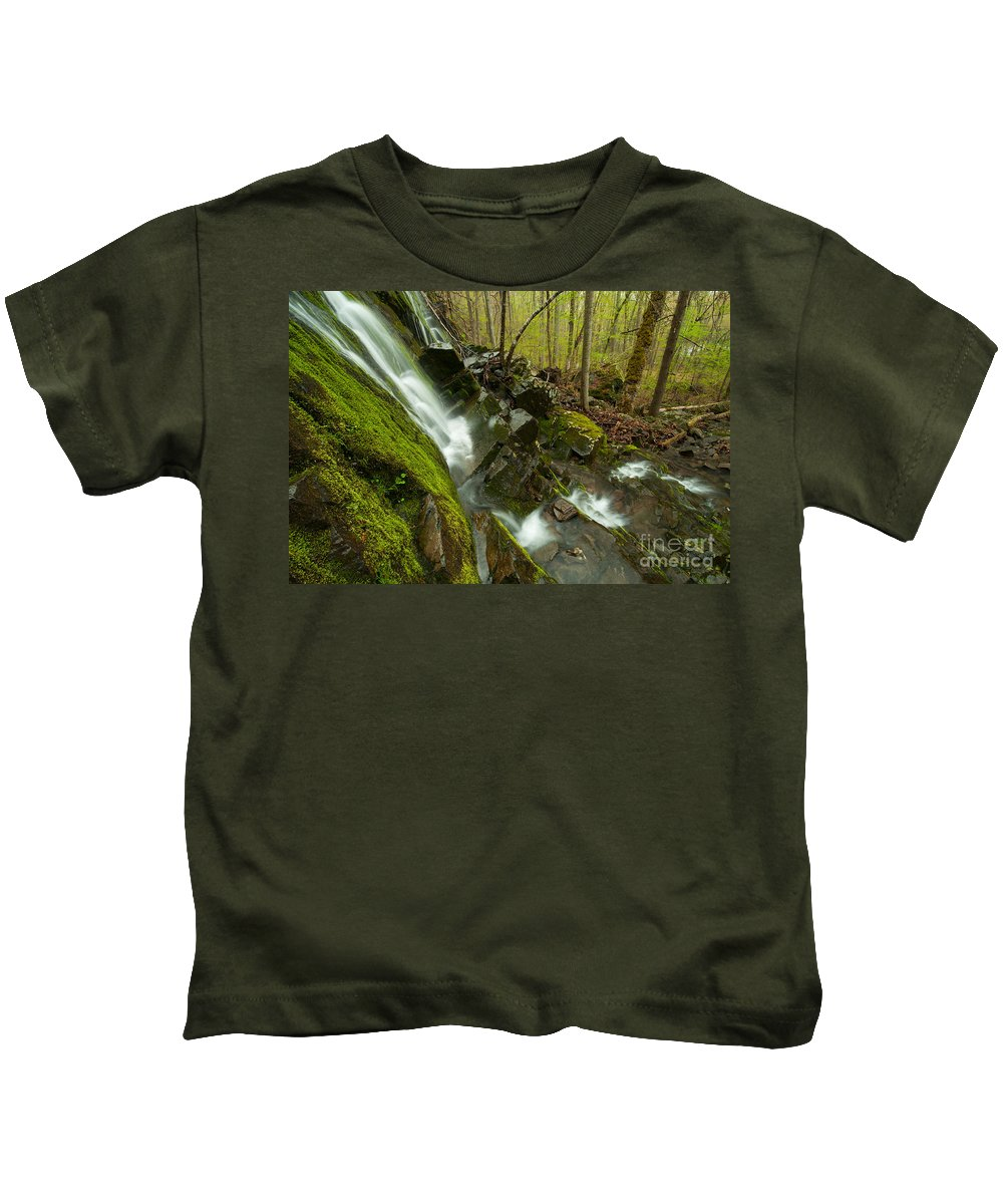 Brook Kids T-Shirt featuring the photograph Cathles Jewels by JG Coleman