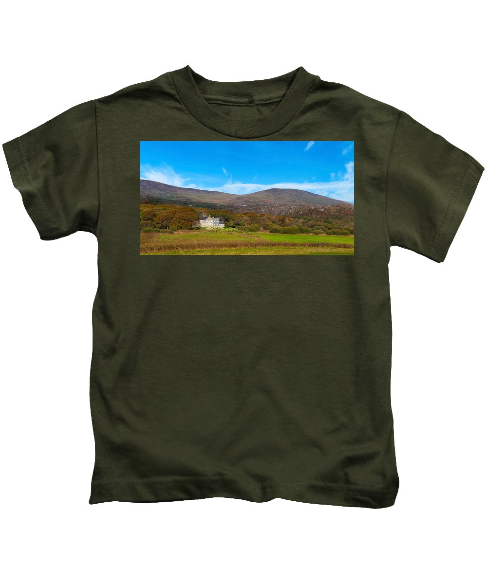 Photography Kids T-Shirt featuring the photograph Derrynane House The Home Of Daniel by Panoramic Images