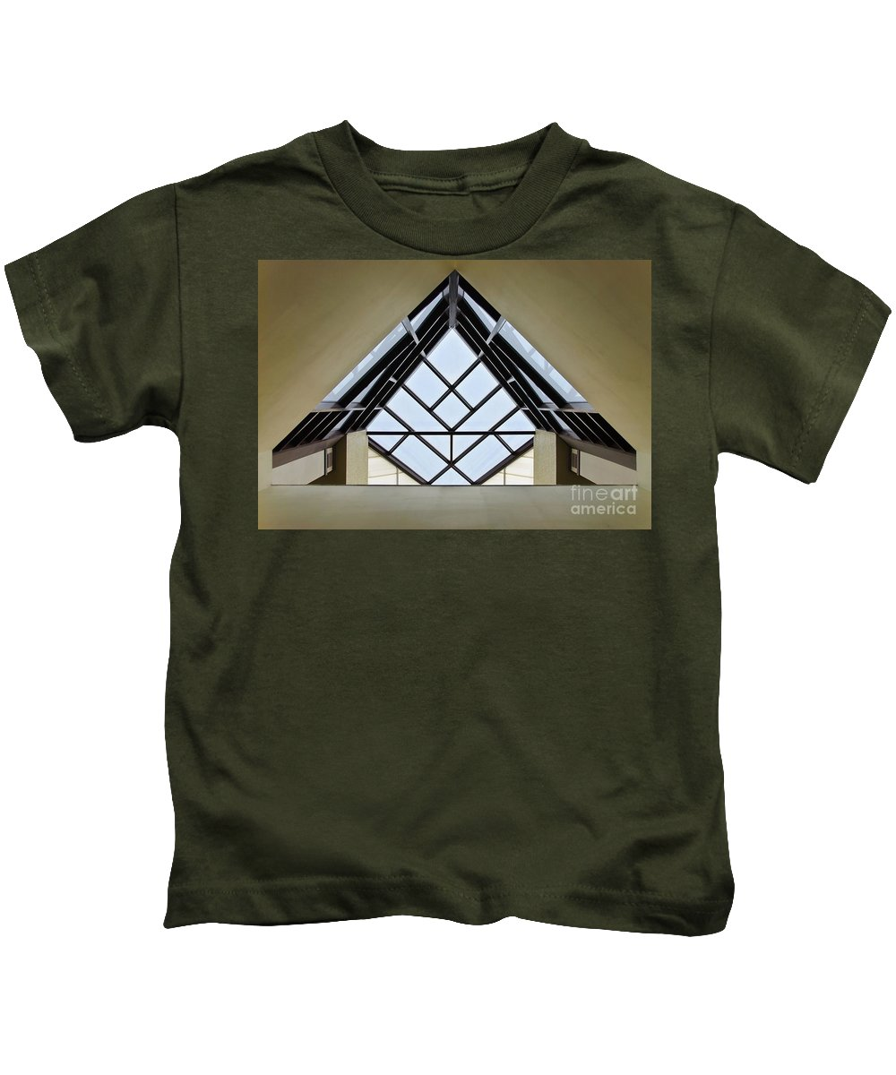 Directional Kids T-Shirt featuring the photograph Directional Symmetry by Charles Dobbs