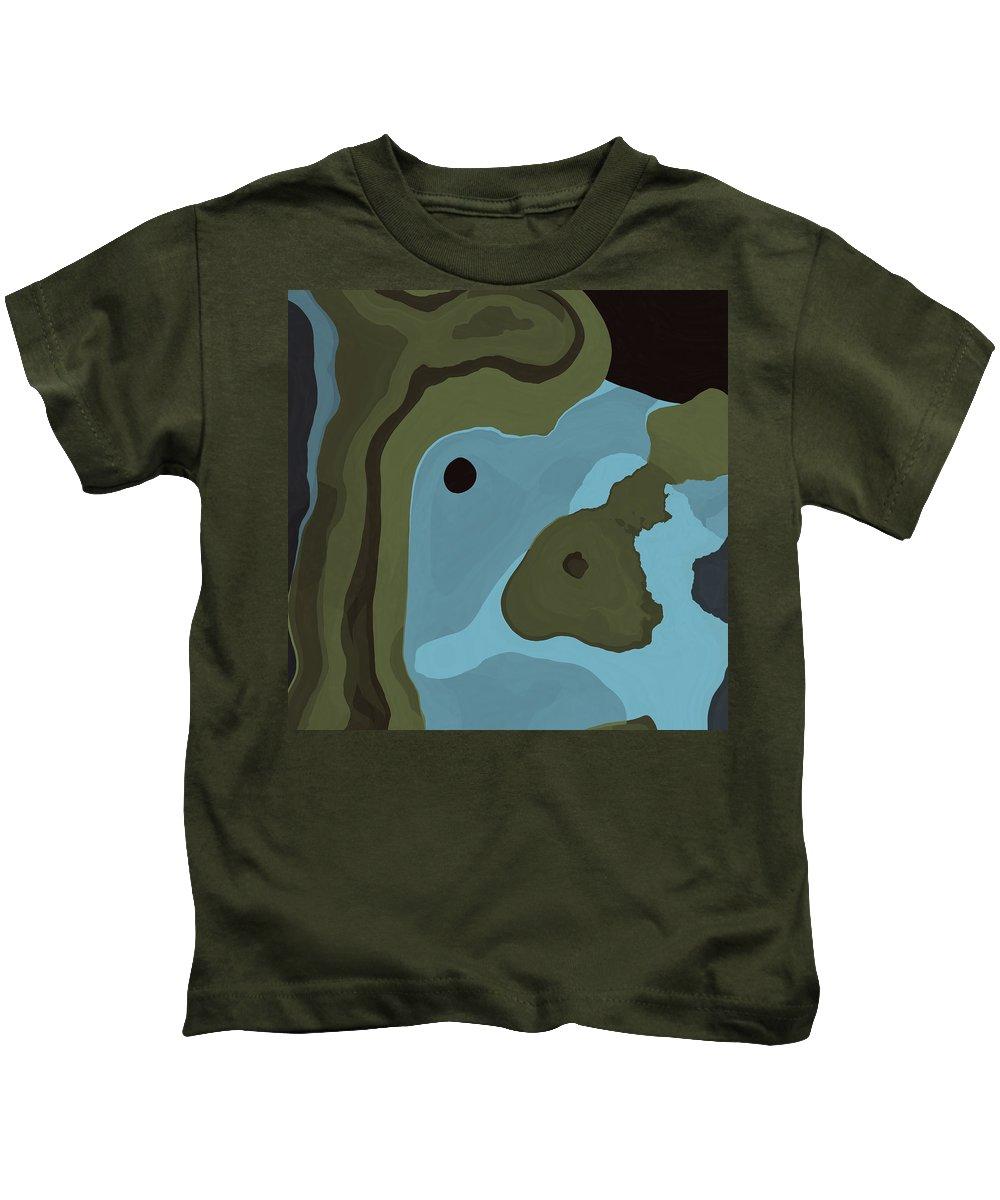 Dream Kids T-Shirt featuring the digital art Dream World #4 by David G Paul
