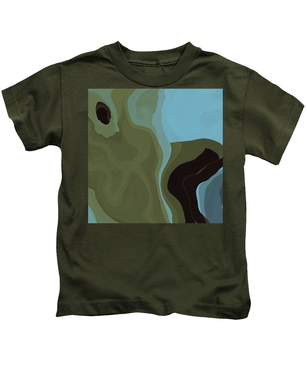 Dream Kids T-Shirt featuring the digital art Dream World #5 by David G Paul