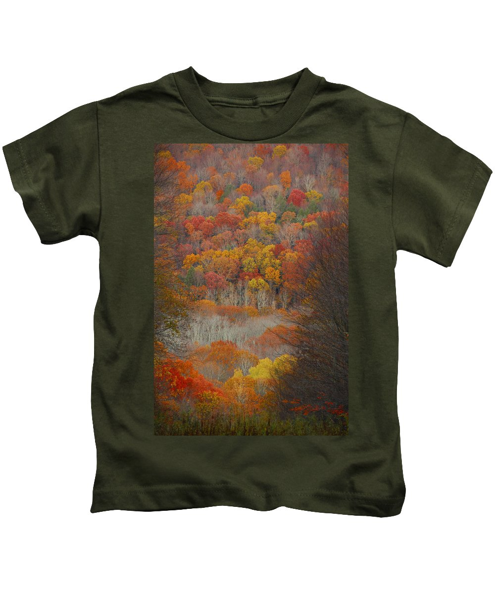 Fall Kids T-Shirt featuring the photograph Fall Tunnel by Raymond Salani III