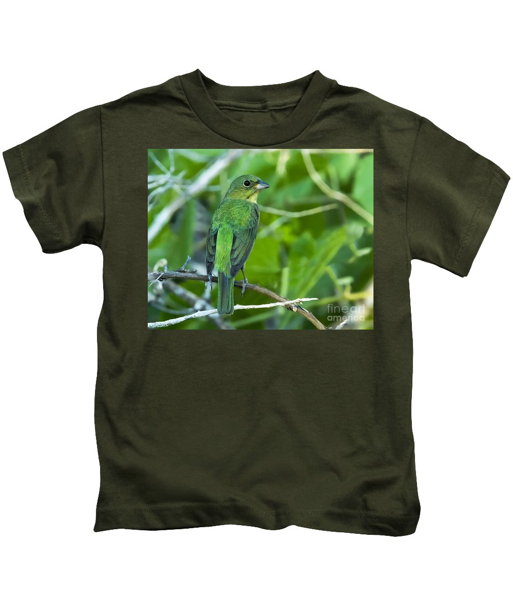 Fifty Shades Of Green Kids T-Shirt featuring the photograph Fifty Shades Of Green by Gary Holmes