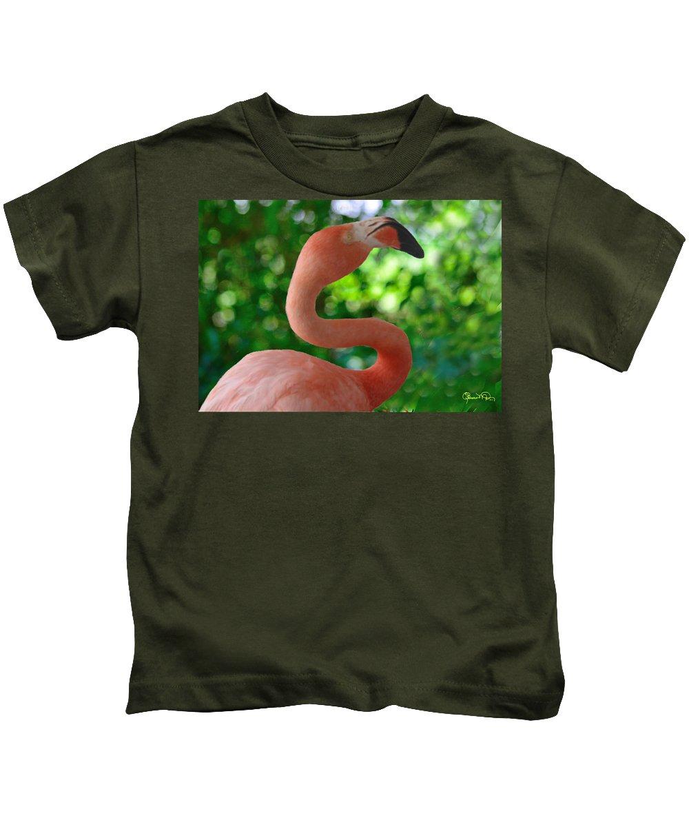 florida Classic Kids T-Shirt featuring the photograph Florida Classic by Susan Molnar