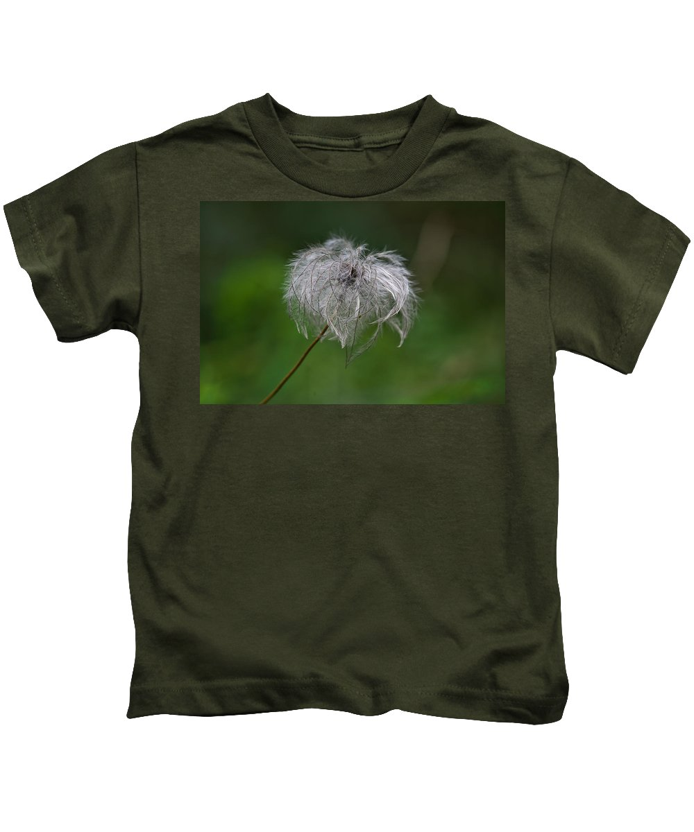 Abstract Kids T-Shirt featuring the photograph Fluffy by Ivan Slosar