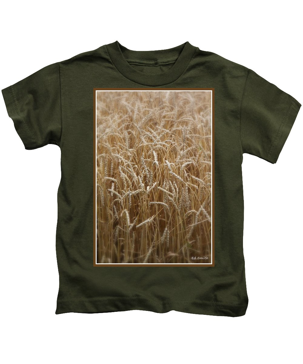 Food For Thought Kids T-Shirt featuring the photograph Food For Thought by Edward Smith